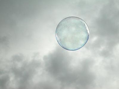 una burbuja...
