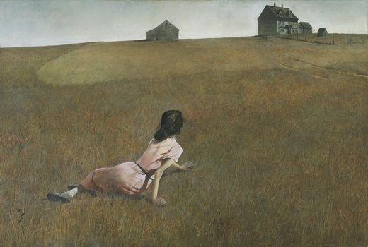 la soledad según Andrew Wyeth